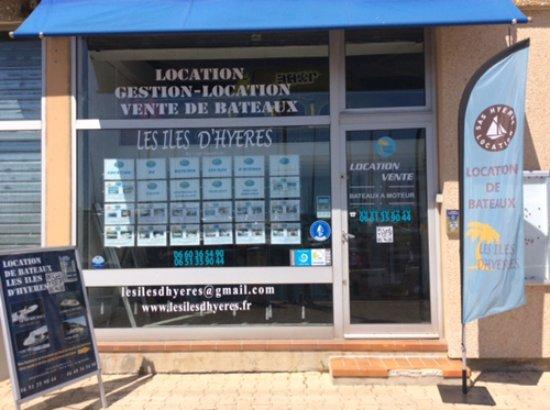 Hyeres, Frankrike: Notre boutique sur le port