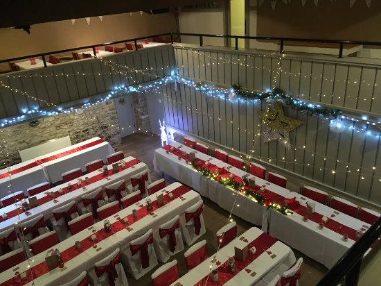 Barrowford, UK: Reception from above