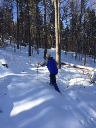 Roxbury, VT: Snowshoeing