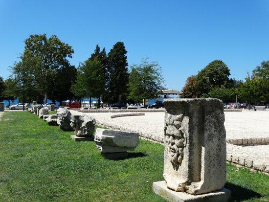 The Forum: Fragment pozostałości rzymskich budowli