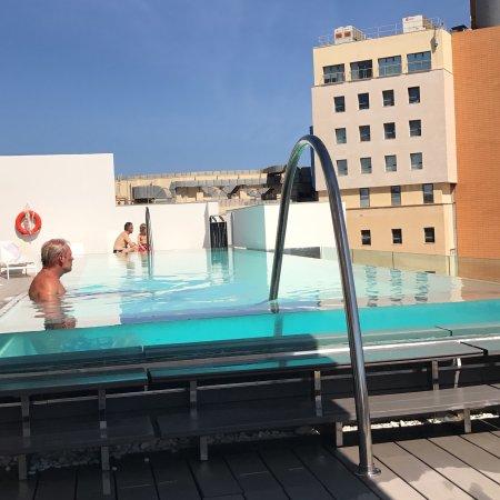 Hotel Valentina: Roof top pool