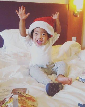 Premier Inn London Greenwich Hotel: Christmas Day!
