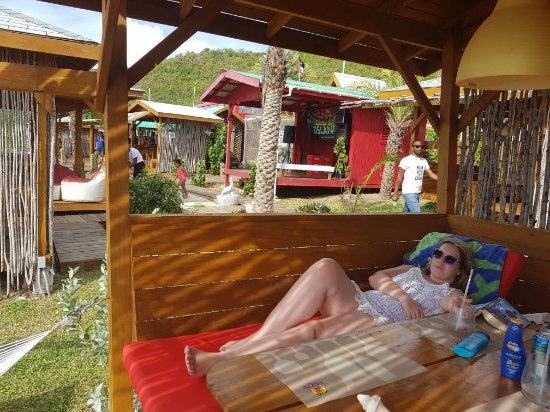 Crab Hill, Антигуа: Rum Bus Beach