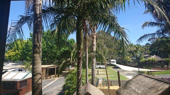 Comfort Resort Kaloha: 隣はバーベキューコーナー