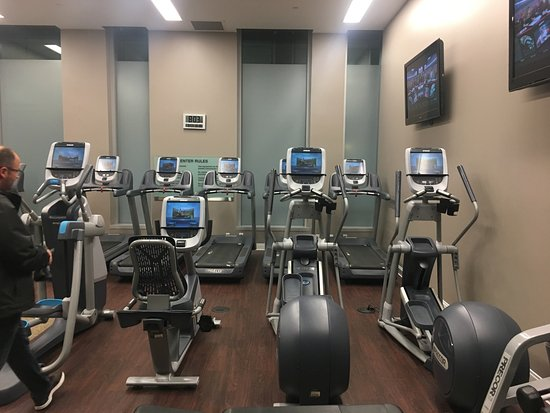 Gym Picture Of Hilton Columbus Downtown Tripadvisor