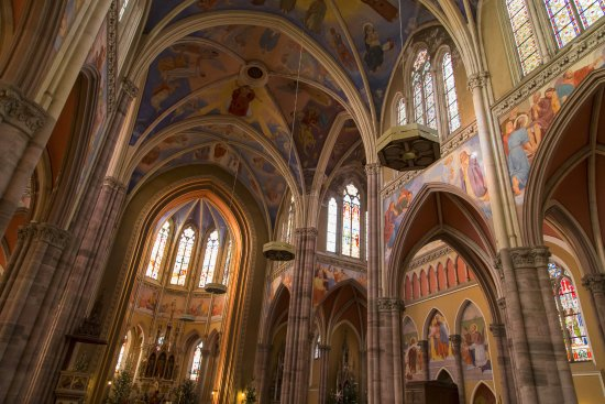 SS Peter and Paul : It's a gorgeous gem in the city center of Osijek.