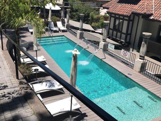 The Aubrey Boutique Hotel: Pool area