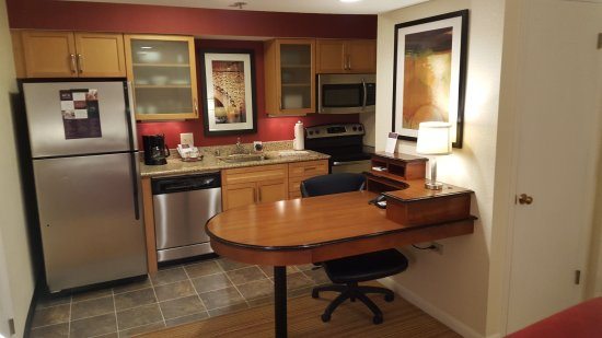 Kitchen and Dining/Work Area - Picture of Residence Inn by Marriott ...