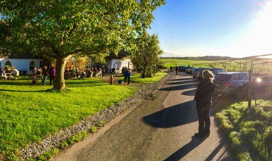 Ravensburg, Germany: Spaziergang zum Hofladen Schloss Benzenhofen