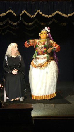 Greenix Village : My sister being included in the performance