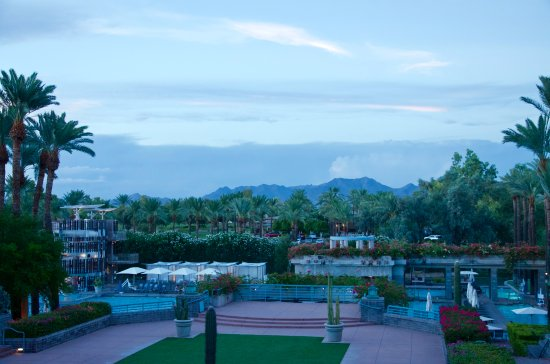 Hyatt Regency Scottsdale Resort and Spa at Gainey Ranch: Nice views from the property