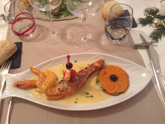 Hotel-Restaurant Le Jambon: saumon
