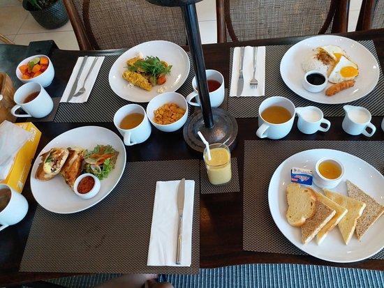 Choices Of Breakfast Picture Of Vinila Nusa Dua Tripadvisor