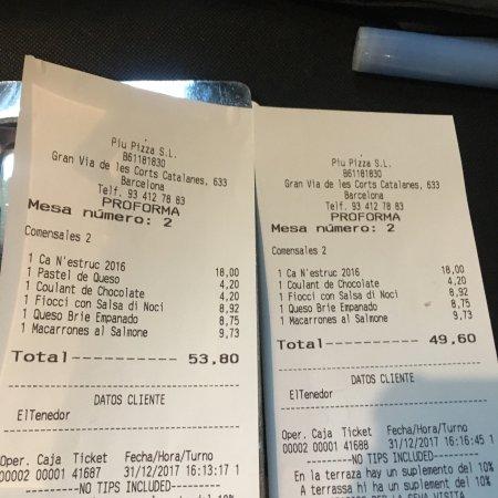 Photo0 Jpg Picture Of Piu Restaurants Barcelona Tripadvisor