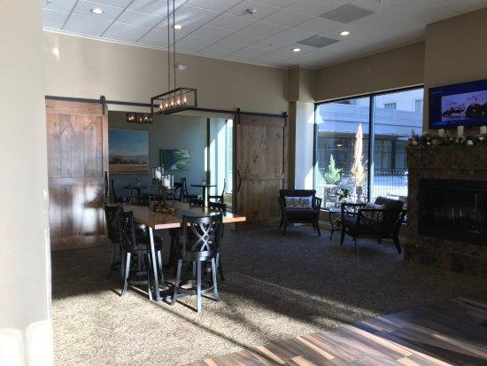 แยคิมา, วอชิงตัน: Breakfast dining area