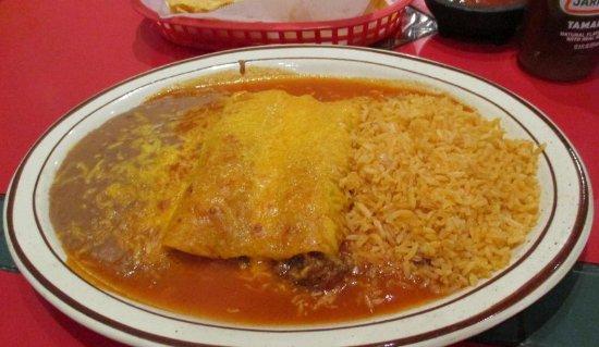 Cheney, WA: Beef Enchiladas
