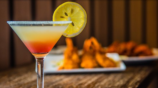 Pleasant Hill, Califórnia: Our signature Raspberry Lemon Drop