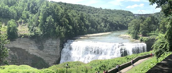 Castile, NY: Falls at Letchworth State Park