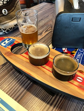 Abingdon, MD: Flight of Beers