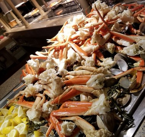 All you can eat Snow Crab Legs at Cape May Cafe - Picture of Cape
