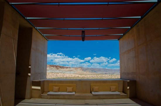 Amangiri : Picturesque landscapes and framing