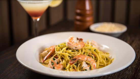 San Bruno, CA: Shrimp Scampi - one of our favorites!