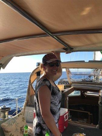Καϊλούα-Κόνα, Χαβάη: Smiles aboard the Holy Grail- a beautiful day in all ways!
