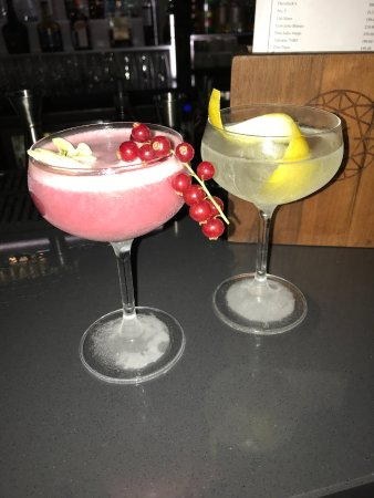 Fenchurch: Cocktails in the Sky Garden to Start (bill 32 GBP)