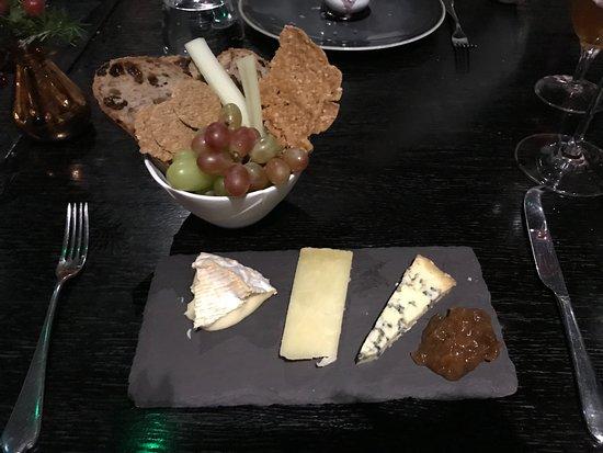 Fenchurch: Cheese board dessert