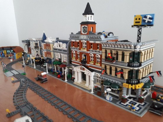 Waihi, New Zealand: Spike's Bricks & Models