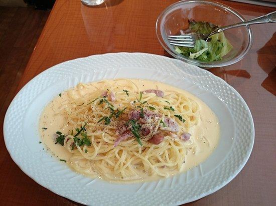 Olive-no-ki Osaki Gatecity: カルボナーラ