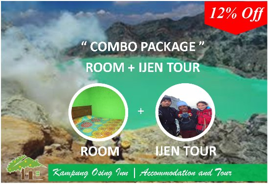 Banyuwangi, Indonesia: Combo Package (Room and Kawah Ijen Tour)