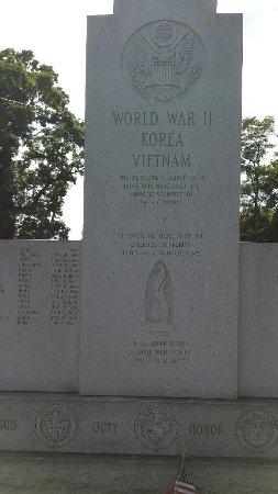 Callands War Memorial, Callands, Virginia