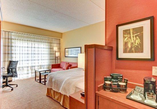 Bridgeport, Virginia Occidental: Guest room
