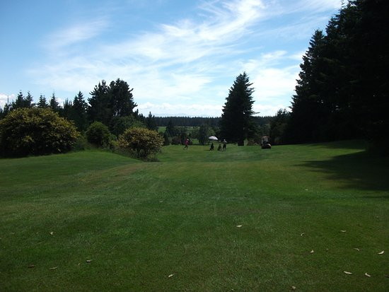 Turangi, Nueva Zelanda: Looking down to the ladies 8th tee