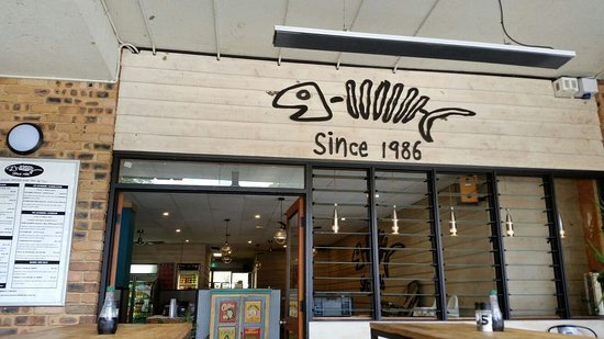Berowra Waters Fish Cafe: The Berowra Fish Cafe shop front
