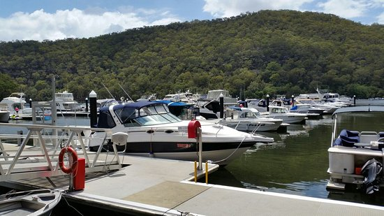 Berowra Waters Fish Cafe: The view from your table