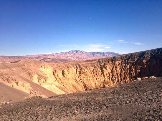 Ubehebe Crater: A yound crater