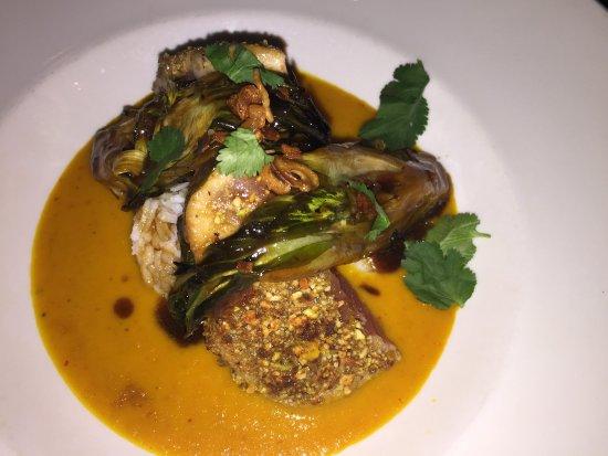 Littleton, MA: Ahi tuna in curry sauce