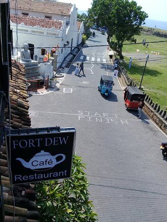 Fort Dew Restaurant: View from rooftop