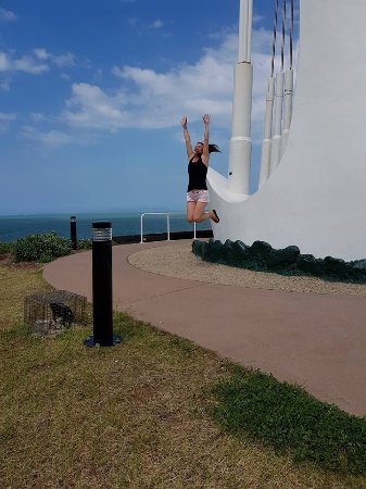 Emu Park, Australia: My signiture pic at each destination
