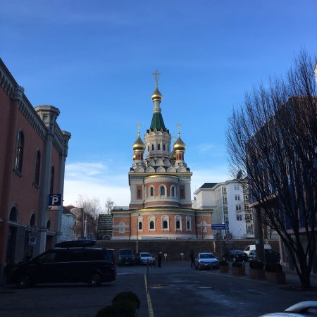 Russian Orthodox Cathedral of St. Nicholas: Grand exterior