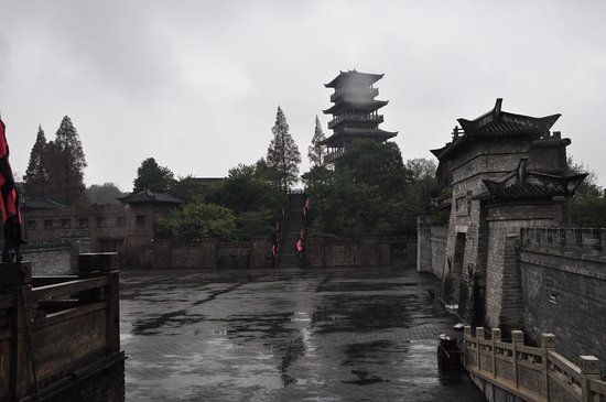 Chibi, Kina: 景区中的影视城
