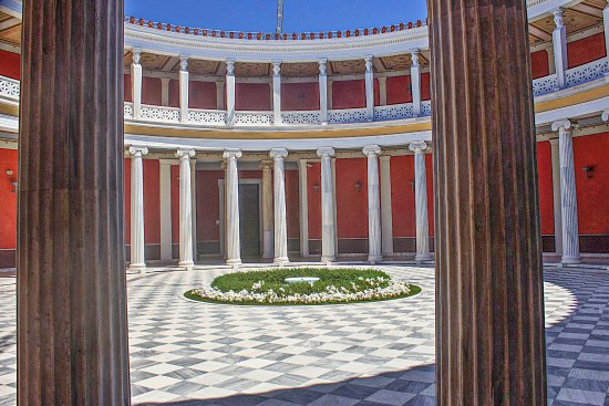 Zappeion Conference & Exhibition Center: Looking inside the Zappeion