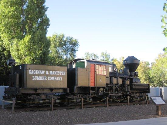 Grand Canyon Railway Hotel: Historic train