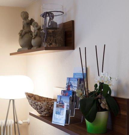 Vandans, Austria: Prospekte im Haus