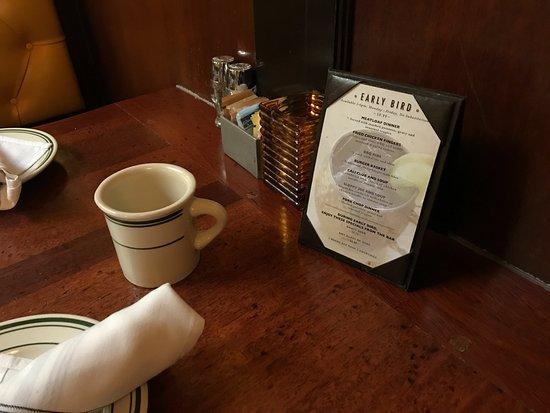 Ted's Bulletin: Table