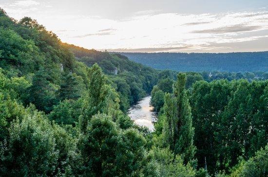 Sergeac, France : Vue sur la Vézère
