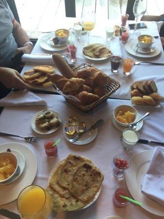 Riad Villa Blanche : Petit-déjeuner