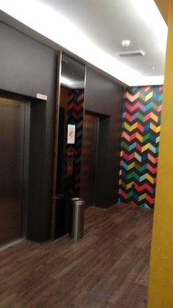U Hotel Penang: 4th floor lift lobby.